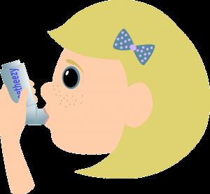 Kinder erkranken am häufigsten an einem allergischen Asthma.