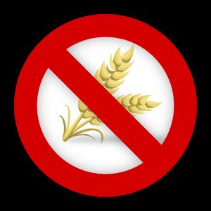 Bei ein Glutenintoleranz sollte man auf ein Glutenfrei-Symbol achten.