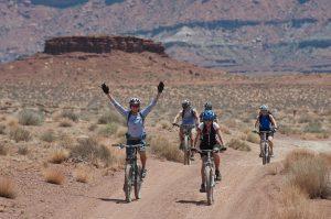 Auch Radfahren ist für Allergiker gut geeignet um die Kondition zu stärken.