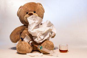 Auch gegen eine Grippe kann man sich impfen lassen.