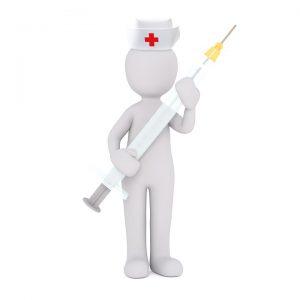 Impfungen gegen Heuschnupfen sind möglich.