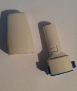 Mit einem Inhalator können Glukokortikoide inhaliert werden.