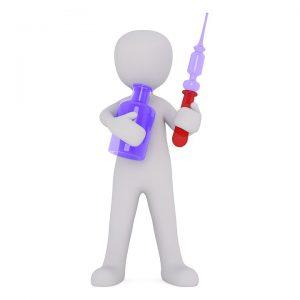 Die Therapie durch Hyposensibilisierung erfolgt häufig durch Spritzen (SCIT).