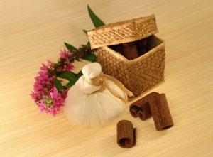 Ayurveda nutzt spezielle Kräuterbeutel, die Pinda, um Verspannungen und Blockaden zu lösen.