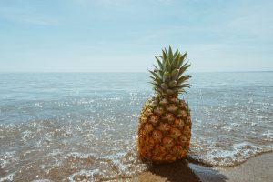 Die Ananas-Allergie führt beim Verzehr von Ananas zu allergischen Symptomen