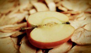 Getrocknete Früchte wie Äpfel können Sorbit enthalten.