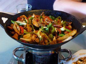 In chinesischen Restaurants wird häufig mit Glutamat als Geschmacksverstärker gearbeitet.