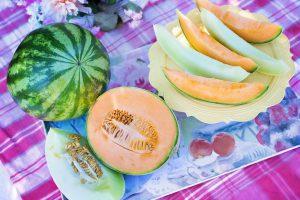 Melonenspalten sind im Sommer als Durstlöscher sehr beliebt.