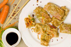 Eine Glutamatallergie kann durch das im chinesischen Essen enthaltene Glutamat ausgelöst werden.