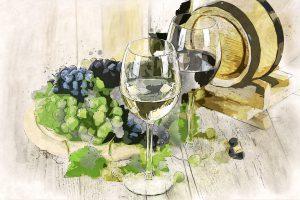 Der Genuss von Wein kann zu einer Weinallergie führen.