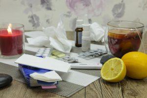 Bei einer Erkältung gilt es Auslöser zu meiden.