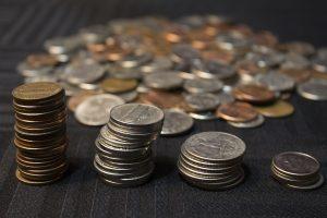 Auch Münzen können Nickel enthalten.