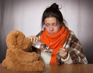 Allergie oder Erkältung, die Symptome sind ähnlich.