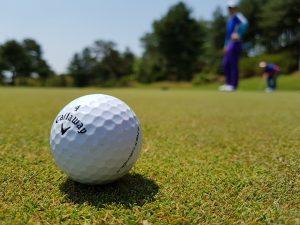 Auf dem Golfplatz können Allergien drohen.
