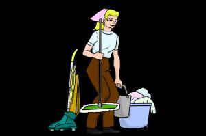 Durch regelmäßiges Staubsaugen und Wischen kann man den Wohnraum milbenfreier gestalten.