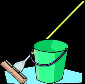 Regelmäßiges feuchtes Wischen senkt die Zahl der Milben in der Wohnung.
