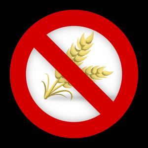 Glutenfreiheit wird durch das Symbol einer durchgestrichenen Getreideähre dargestellt.