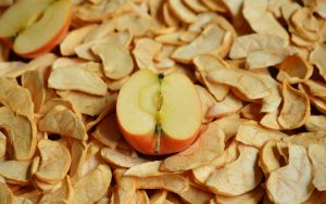 Sulfite können sich in getrocknete Obst wie vor allem Äpfeln befinden.