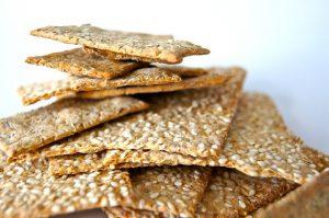 Kekse aus Sesam können bei einer Sesamallergie nicht ohne Beschwerden verzehrt werden.